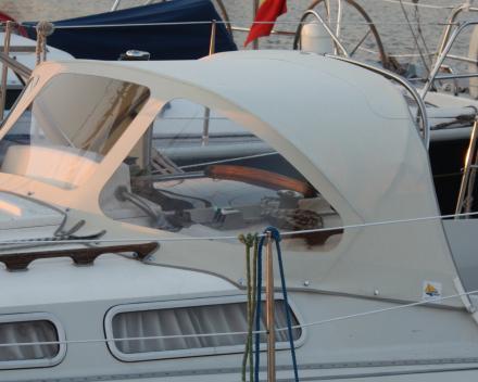 Buiskap acryl off-white Blankenberge Winning Sails zeilmakerij