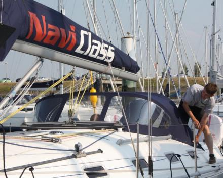 Buiskap Lazy Bag Jachthaven Nieuwpoort Winning Sails zeilmakerij