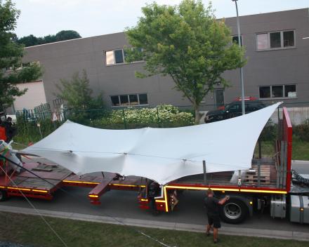 Tentstructuur Tentzeil vernieuwen Precontraint Winning Sails Tentstructuren