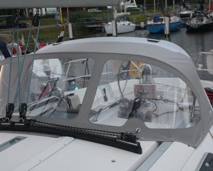 Buiskap met PVC afgewerkt Winning Sails zeilmakerij