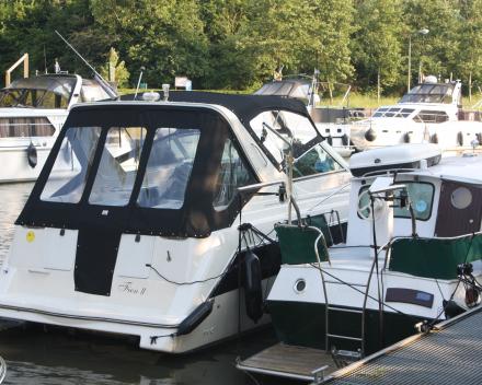 Kabriokap met bimini, zijpanelen en achterkap Winning Sails zeilmakerij