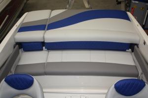 Herstoffering Bootkussen met kleur en figuur Amalfi Winning Sails