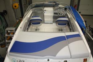 Herstoffering Bootkussen Amalfi Winning Sails